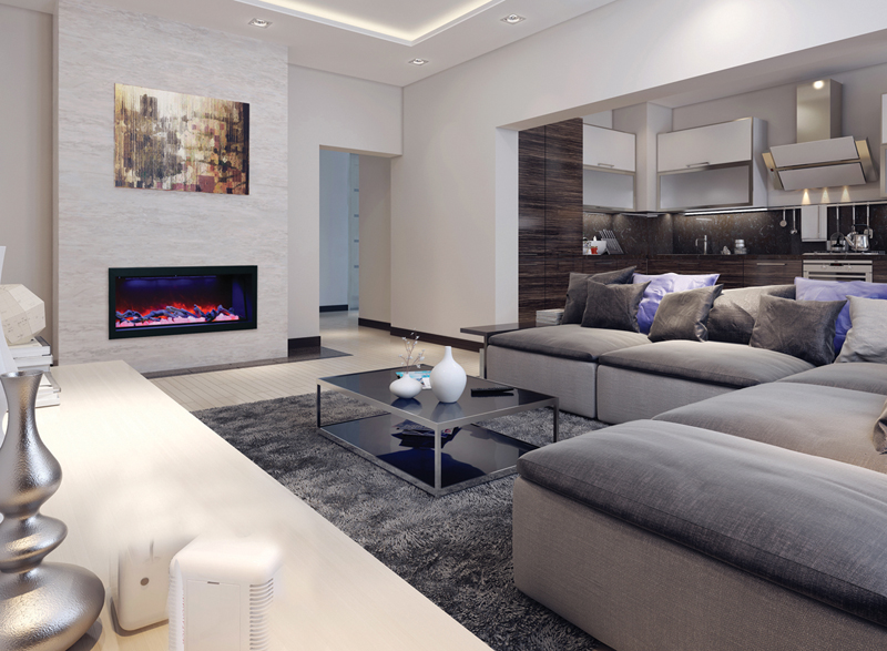 BI-50-DEEP Electric Fireplace