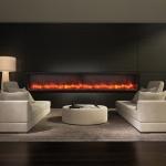 BI-88-Deep electric fireplace