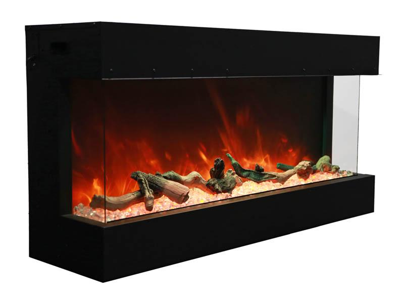 50 Tru View Xl 3 Sided Electric Fireplace Amantii