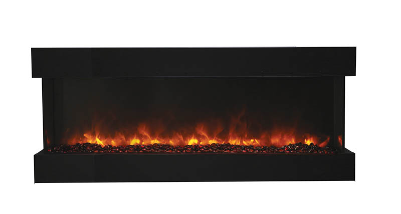 TruView 60 XL 3 side electric fireplace