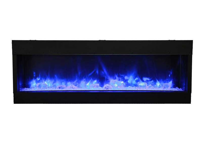 72 tru view xl 3 sided electric fireplace amantii electric rh amantii com Double Sided Wood Stove Insert Three-Sided Gas Fireplace