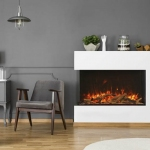 extra tall TruView Electric Fireplace