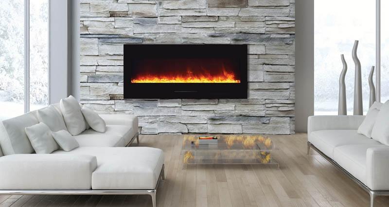 Wm Fm 50 Bg Electric Fireplace Wm Fm 50 Bg No Logs Amantii