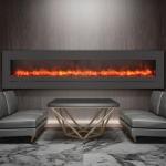 WM-FML-88-9623-STL electric fireplace