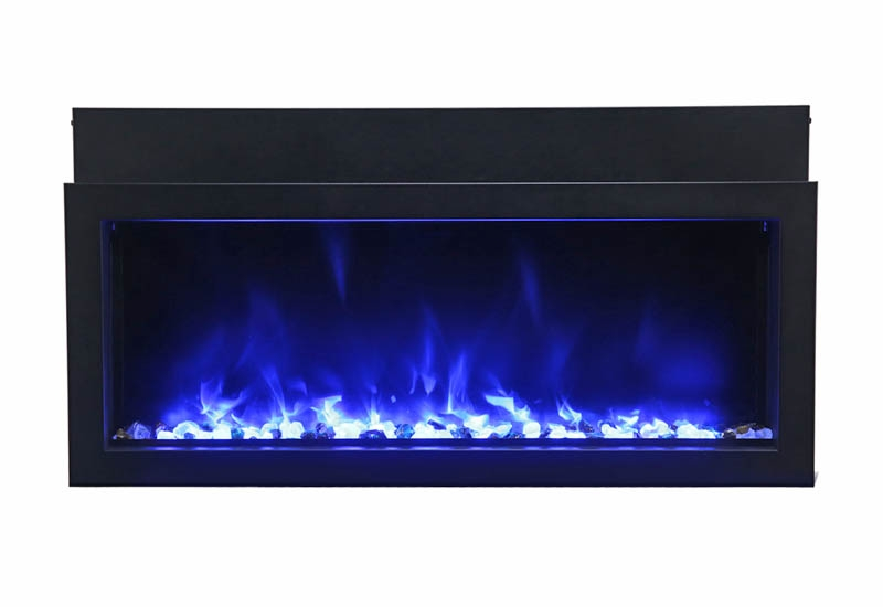 Amantii Electric Fireplace Bi 30 Xtraslim Indoor Or Outdoor Fireplace
