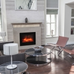 ZECL-FM-26 electric fireplace