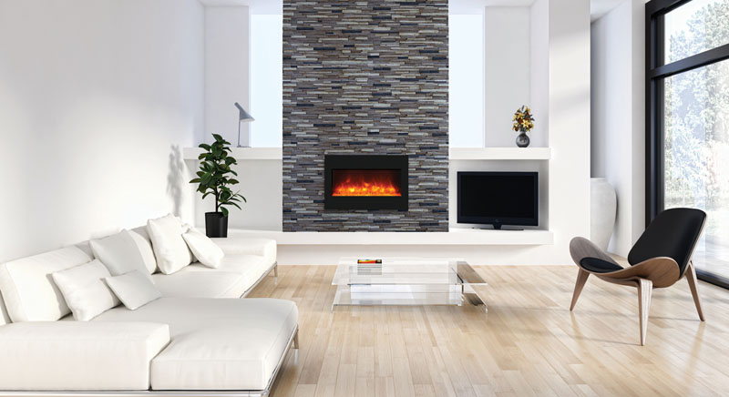 ZECL-BG-33 electric fireplace