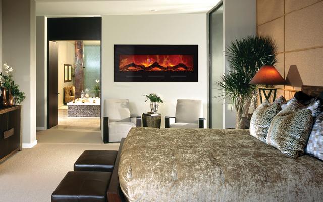 Amantii Electric Fireplaces - Flushmounted