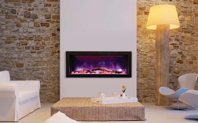 BI-40-DEEP Amantii electric fireplace