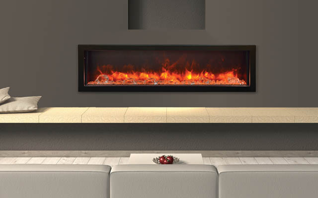 BI-60-DEEP electric fireplace by Amantii