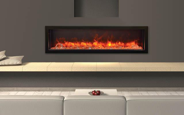 BI-60-DEEP electric fireplace by Amantii