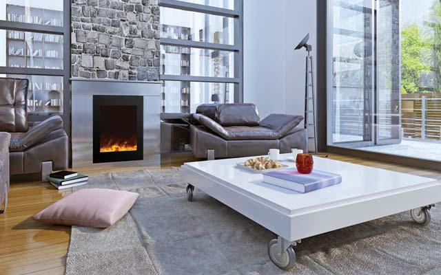 Amanti electric fireplace Zero Clearance