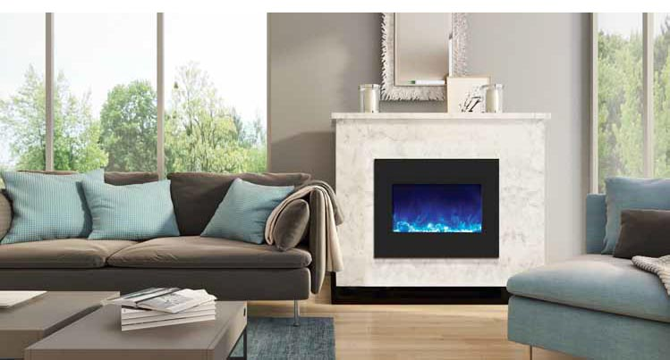 Amantii ZECL electric fireplace - zero clearance