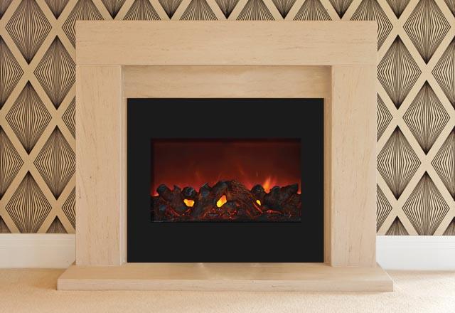 ZECL-30-3226-BG Zero Clearance Electric Fireplace