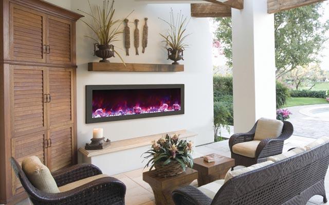 Amantii electric fireplace BI-50 SLIM