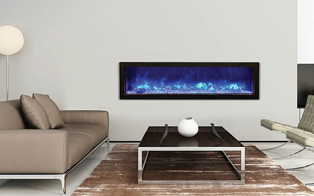 Electric fireplace - indoor or outdoor - Amantii
