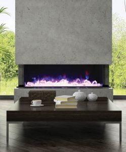 Amantii Tru-View electric fireplace