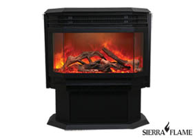 Free Stand electric fireplace