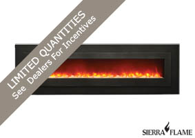 WM-FML-85 Amantii electric fireplace