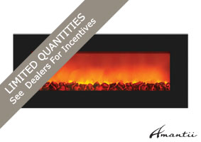 WM-SLIM electric fireplace