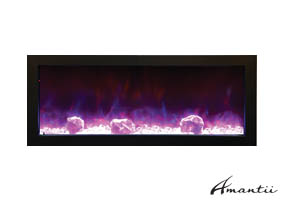Amantii indoor or outdoor electric fireplace
