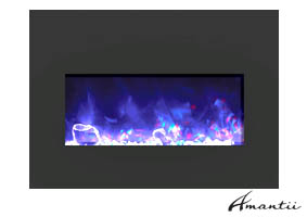 Electric fireplace insert Insert-33-BG