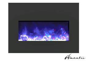 Electric fireplace insert Insert-33-BG