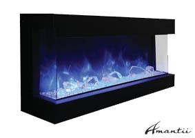 Terrific Electric Fireplaces By Amantii Contemporary Electric Fireplace Interior Design Ideas Tzicisoteloinfo