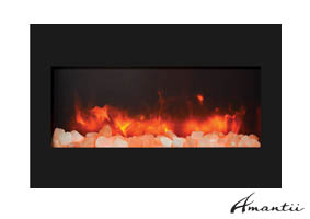 Peachy Electric Fireplaces By Amantii Contemporary Electric Fireplace Interior Design Ideas Tzicisoteloinfo