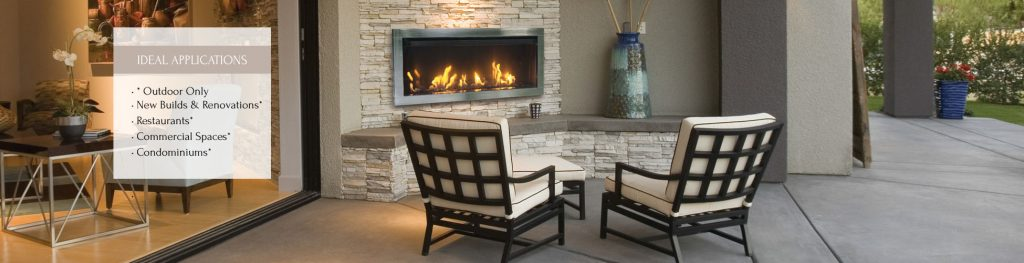 Tahoe 450L Gas Fireplace - Amantii Electric Fireplaces