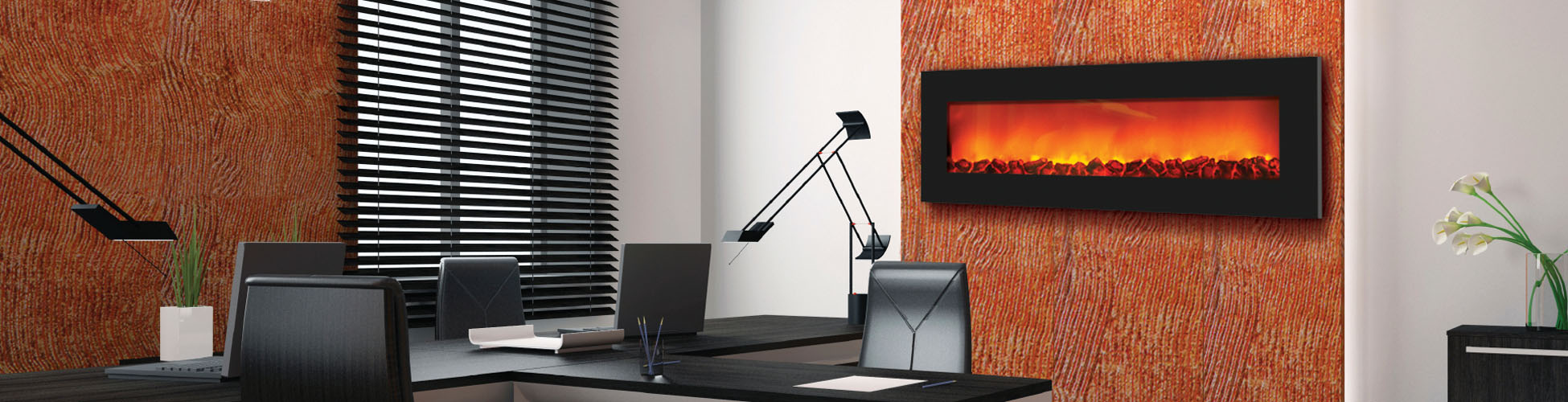 WM-SLIM-54 electric fireplace