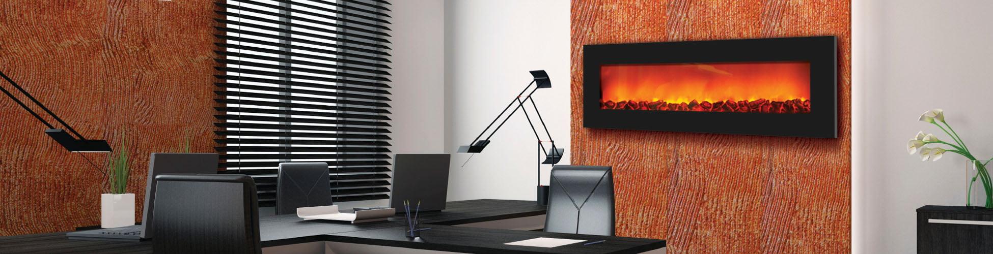 WM-SLIM-54 electric fireplace