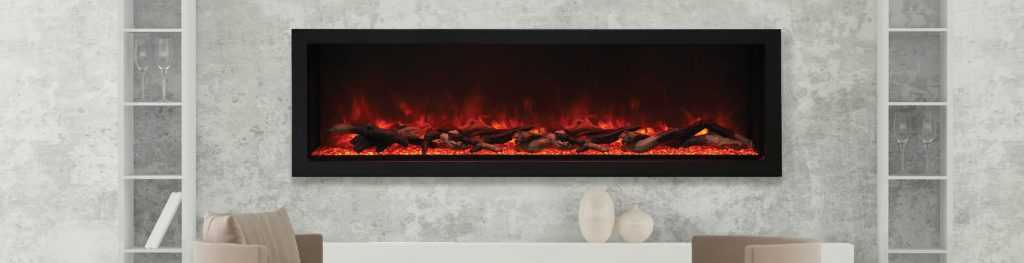 BI-72-DEEP-XT electric fireplace by Amantii