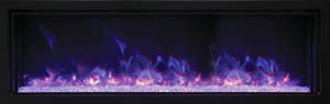Amantii extra slim electric fireplace