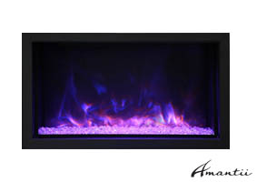 XT-DEEP-40 Amantii electric fireplace