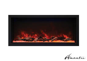 Amantii extra tall electric fireplace