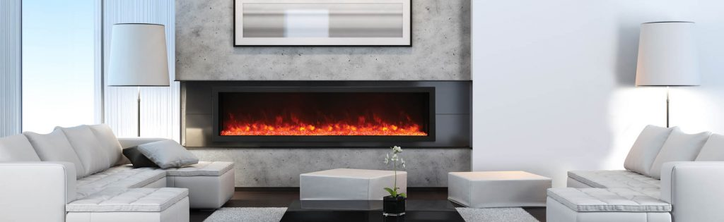 Electric Fireplaces By Amantii Contemporary Electric Fireplace