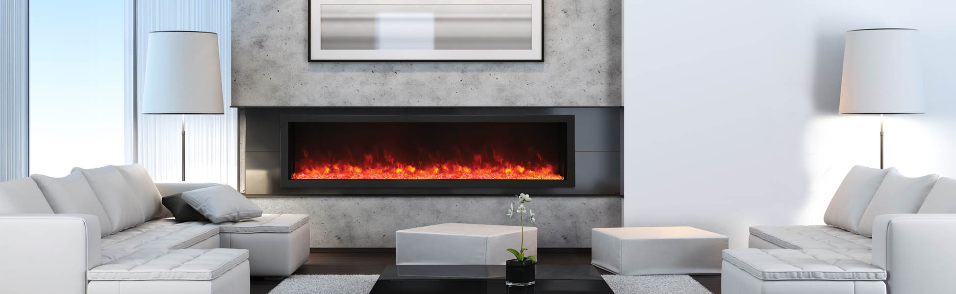 Amantii XS-40 electric fireplace