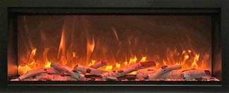 SYM-XT extra tall electric fireplaces