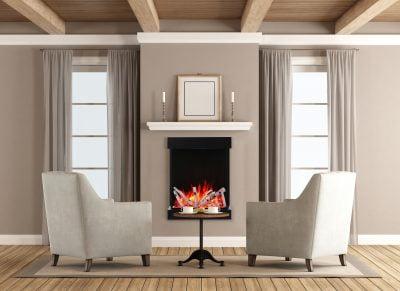 electric fireplace 2939-xl with birch log set
