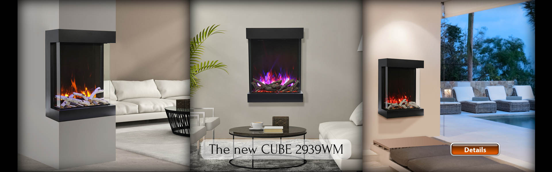 electric fireplaces Amantii