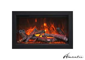 Amantii TRD-26 electric fireplace