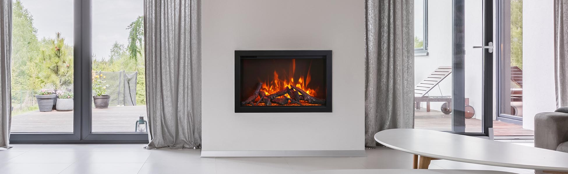 Amantiei TRD-38 electric fireplac