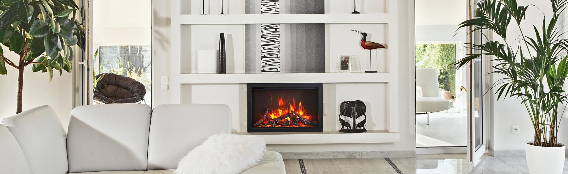 Electric Fireplace - Amantii TRD-30
