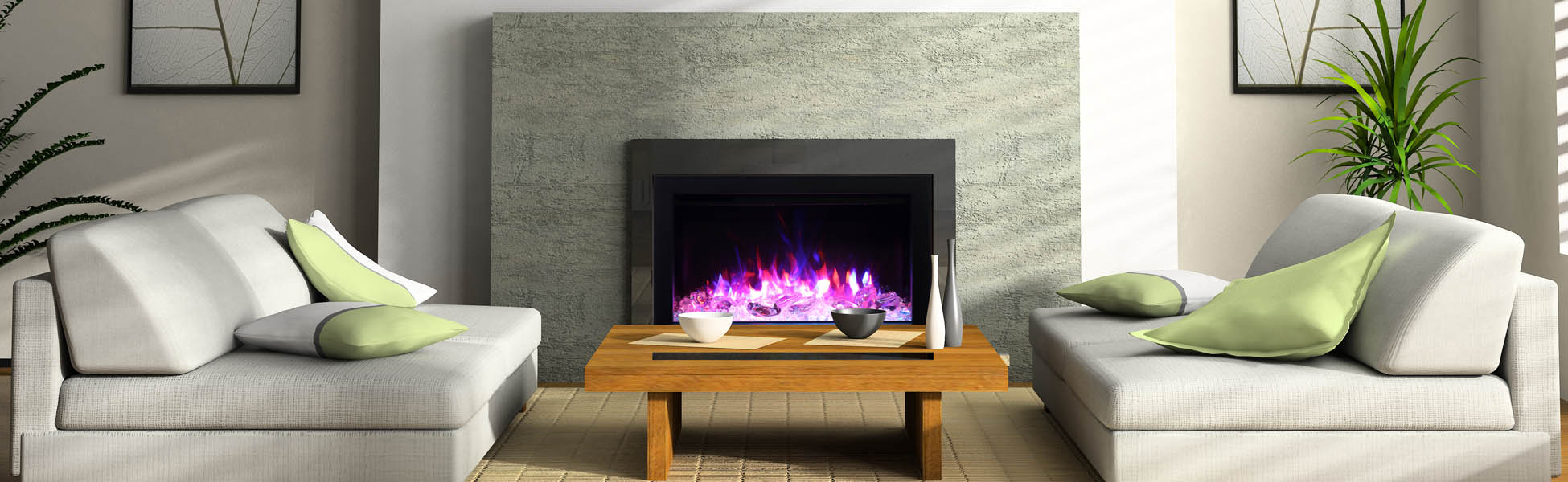 electric insert - fireplace