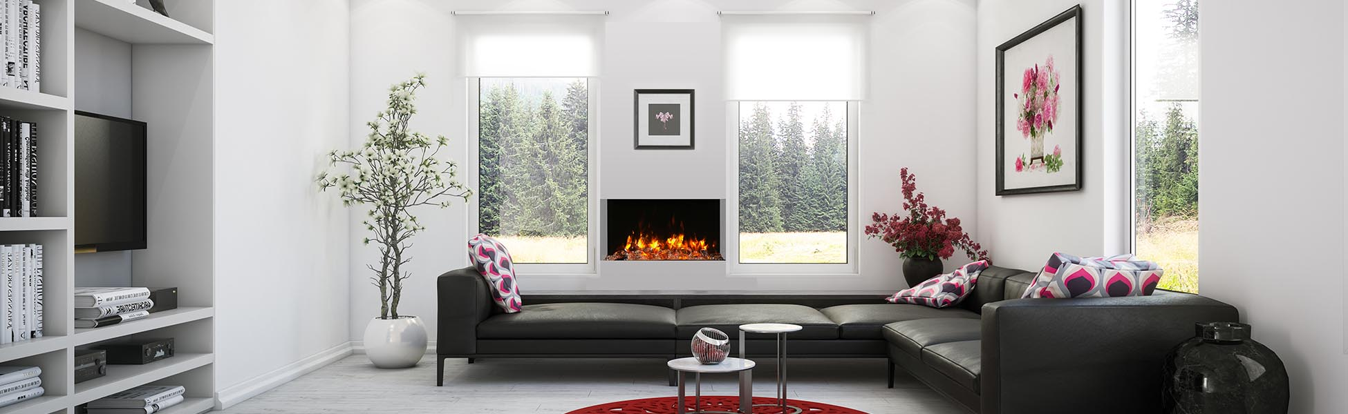 TRU-VIEW-SLIM 30 electric fireplace