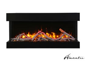electric fireplace Amantii