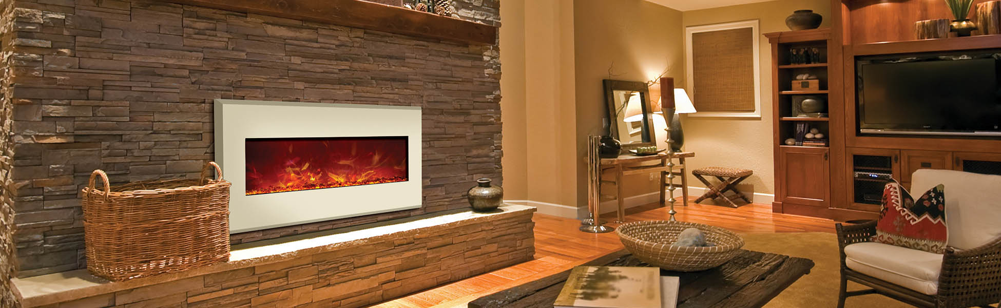 electric fireplaces wall mount