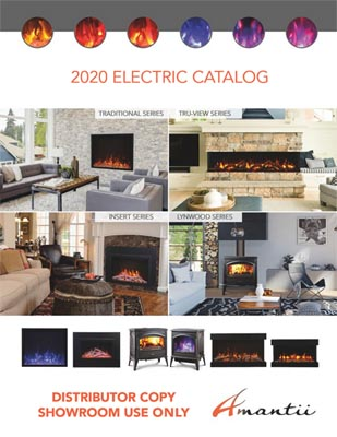 electric fireplace catalog