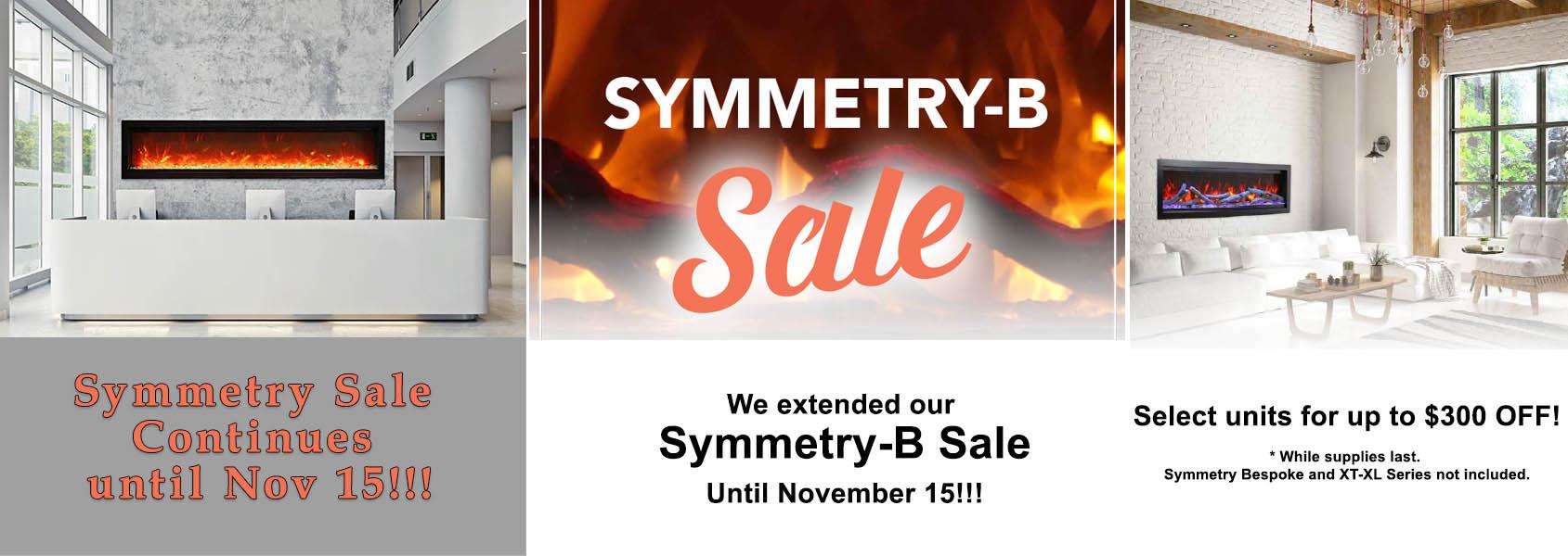 Symmetry sale